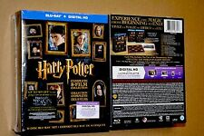 Harry Potter 8 Movie Collection Limited Edition Blu-ray 16 Disc Set 2016 *NEW*