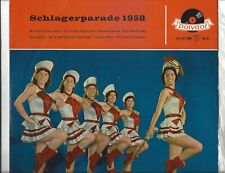 Schlagerparade 1958 - Peter Kraus, Freddy, Caterina Valente Polydor 25 cm  LP