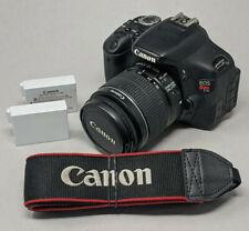 Canon EOS Rebel T3i / EOS 600D 18.0MP DSLR Camera - Black (Kit w/ 18-55mm lens)