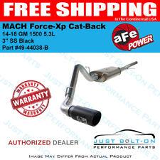"aFe MACH Force-Xp 3"" SS Cat-Back Black 14-18 GM 1500 5.3L #49-44038-B"