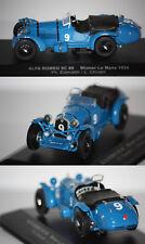 IXO Alfa Roméo 8C n°9 Winner 24h du Mans 1934 1/43 LM1934