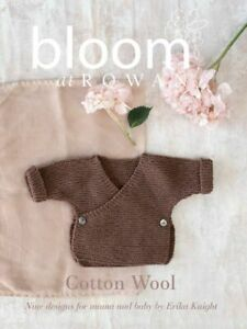 Bloom at Rowan Collection One Cotton Wool by Erika Knight