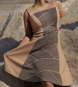 Einfach Schick!! Minikleid / Sommerkleid / Stretchkleid  in Streifenmuster