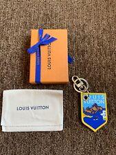 NIB Louis Vuitton Alpes Keychain Pte Cles Jaune Damier Graphite M63840