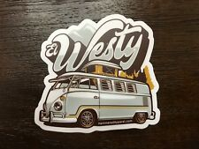VW Volkswagen Westy Decal Sticker Transporter Kombi Split Bus Camper