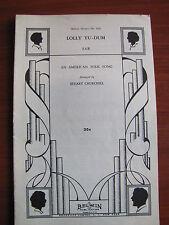 Lolly Tu-Dum (American Folk Song) - 1957 sheet music - SAB Mixed voice +piano