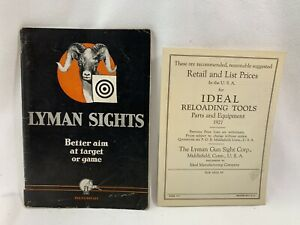 1926 Lyman Gun Sight Manual  Catalog No. 15 + Price list Lyman Gun Sight Corp.