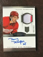 2013-14 Panini Dominion Danny DeKeyser Rookie Auto Patch /299 Red Wings!