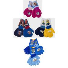 Boys/Girls Kids mittens/gloves Disney Paw Patrol Spiderman, Frozen,Despicable Me
