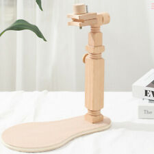 Adjustable Embroidery Lap Stand 360 Rotate Cross Stitch Stand Wooden Hoop Sewing