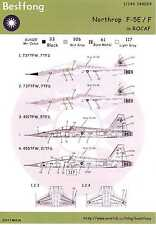 Bestfong Decals 1/144 NORTHROP F-5E/F TIGER II Chinese Air Force