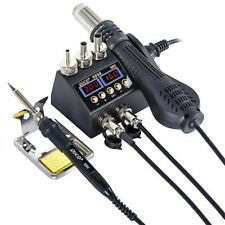 Welding Station Hot Air Gun Lcd Digital For Cell Phone Bga Smd Pcb Ic Repair Kit