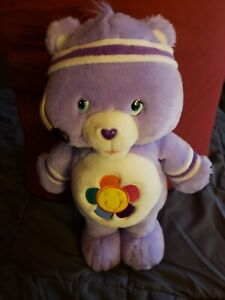 HARMONY Fit N Fun Work Out Care Bears Plush Moving Talking WORKING