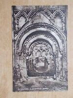 VINTAGE POSTCARD - DOORWAY - GLASTONBURY ABBEY - SOMERSET