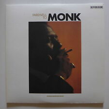 LP/  Thelonious Monk - Farewell To Monk / Japan 1982