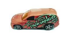 Hot Wheels Fandango Panel Van First Edition 2001 Rare Orange