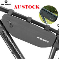 ROCKBROS Bicycle Frame Bag Waterproof MTB Road Bike Triangle Top Tube Bag 3L AU