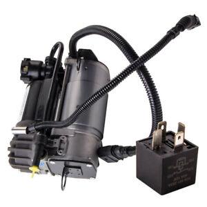 Air Suspension Compressor pump & Relay For Audi A6 C5 Allroad 01-05 4Z7616007A