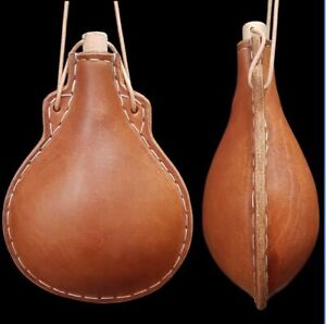 leather water bottle (Mediaval)Viking