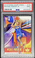 Michael Porter Jr 2018-19 Panini Court Kings Level 2 RC Rookie #140 PSA 9 POP 2