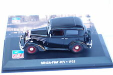 ALTAYA SIMCA FIAT 6CV 1935 1/43