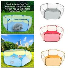 2020 New Small Animals Cage Tent Rabbits Hamster Pet Playpen Exercise Fence