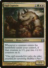 Sigil Captain Commander PLD White Green Uncommon MAGIC MTG CARD ABUGames