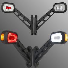 2x LED Begrenzungsleuchte Umrissleuchte 12V 24V Anhänger Trailer rot gelb weiß