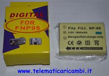 Batteria NP-95  3,7 volt 1800 mAh - Fujifilm FinePix F30 F31 - Nuova -