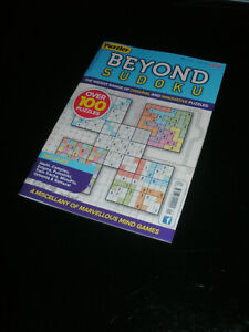 PUZZLER ~ BEYOND SUDOKU ~ #101 ~ 'ABSORBING ENTERTAINMENT'