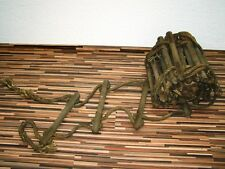 rustic antique Rope ladder approx. 9 Meter long