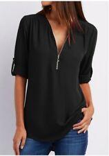 Camisas con Cierre Blusas Damas Para Mujer Blusa de Vestir Moderna Elegantes