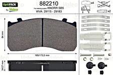 VALEO Brake Pad Set Fits MAN Tgl MERCEDES Atego 4211010