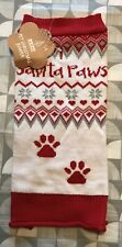 Santa Paws Pet Christmas Jumper Size Small Cat Dog
