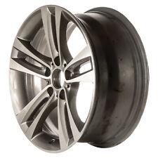 18x8 5 Double Spoke Alloy Wheel Machined and Medium Charcoal Metallic 71540