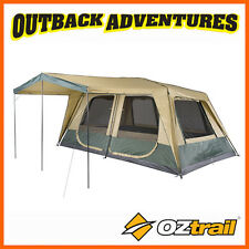 Oztrail Fast Frame Cruiser 450 Cabin Instant up Quick Pitch 10 Person Tent