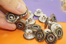 New ! 8.5 x 17mm Press/Hammer On Bronze Dark Brass Denim Jeans Buttons & Pins