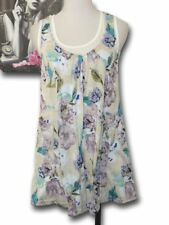 MBC ~ Ladies Size S ~ New CROSSROADS Floral Layer Top