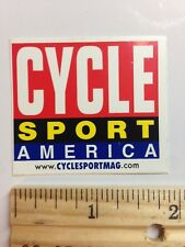 Cycle Sport America Bicycle Race Ride Mountain Road Bike Sticker Decal 🚲