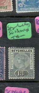 SEYCHELLES  (PP1810B)  QV  13C   SG 13   MNH