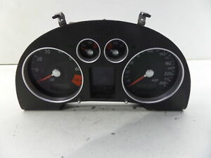 00-01 Audi TT 225hp 151J KMS Instrument Cluster Speedo Gauges MK1 Bad Display...