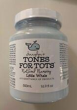 Fusion Mineral Paint Tones for Tots - Little Whale Blue - New/Sealed 16.9 fl oz
