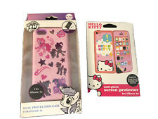 NEW My Little Pony Iphone 5c Dual Protection Case + Hello Kitty Screen Protector