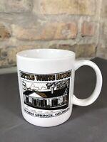 Vintage Franklin D. Roosevelt Coffee Mug Little White House Souvenir FDR