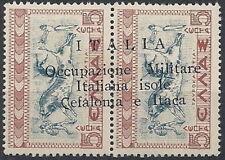 1941 CEFALONIA E ITALIA MITOLOGIA 5+5 L MNH ** - RR11206