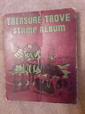 Treasure Trove stamp album with over 250 stamps