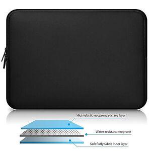 Waterproof Neoprene Sleeve Laptop Case Cover Zipper Bag F MacBook Air Pro 13 15
