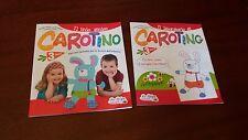 il mio amico carotino -la spiga infanzia-percorsi operativi tre anni-2 libri