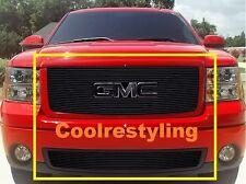 For 2007~2013 GMC Sierra 1500 New Body Black Billet Grille Combo Inserts