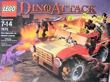 LEGO 7475 Dino Fire Hammer vs. Mutant Lizards.. Brand new sealed